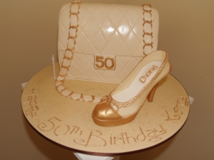 Cream and Gold 50th Chanel